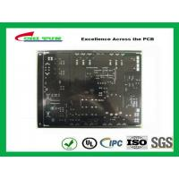 Quality Black Solder Mask Quick Turn Pcb Assembly 2 Layer Fr4 1.6mm Lead Free Hasl for sale