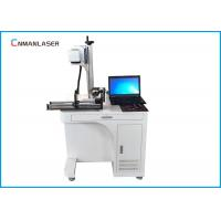 Buy cheap Tabletop Dynamic Automatic CO2 Laser Marking Printing Machine With Rotary Devices from wholesalers