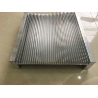 Quality 6061 Alloy CNC Milling Large Aluminium Extruded Heat Sink 300MM Width for sale