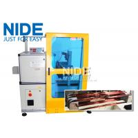 Buy Horizontal Toroid Full Automatic Coil Winding Machine For Big Wire Electric Motor Stator at wholesale prices