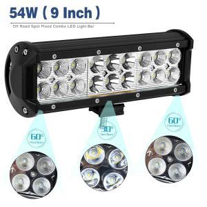 Quality Black 10 - 30V DC Auto LED Mini LED Light Bar , Dustproof Cree LED Work Light Bar for sale