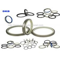 Quality DKBI / DKB / NBR PU Hydraulic Wiper Seals , Machinery Hydraulic Oil Seal for sale