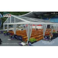 15x15 Meter Outdoor Event Tents with Aluminum Frame and Transparent Roof Cover and Sides for Catering for sale