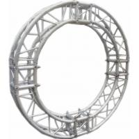 Quality Burliness Silver SN300mm*300mm Circle Aluminum Lighting Truss For Light , LED for sale
