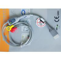 Buy Snap Electrode Holter ECG Cable 2 Leads Medical Device Accessories For Patient Monitor at wholesale prices