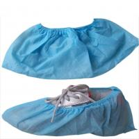 Quality Blue Disposable Non Woven PP Shoe Cover for sale