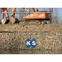 Quality Zinc Galvanised Wire Gabion Boxes / Gabion Cages For Flood Protection Products for sale
