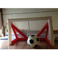 Quality Children Inflatable Football Games Airtight inflatable goal for football games Children football score games for sale