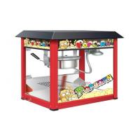China Painting Iron Countertop Popcorn Machine With Organical Glass For Snack Shop on sale