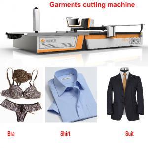 CNC 1.7m Knit Fabric Cutter Knife Cutting Machine For T-Shirt / Suit / Pants / Bra