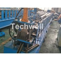 China C Purlin Cold Rolling Forming Machine / Cold Rolled Lipped Purlin Channel Machine For 0-15m/min on sale