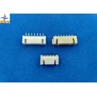 Quality 2.50mm pitch shrouded header wire to board connector single row vertical type wafer connector for sale