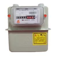 Quality Intelligent Diagram Commercial Gas Meter , G4 Steel Case Home Gas Meter With IC Card for sale