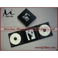 Quality Leather Wedding Double cd dvd Album Case for sale