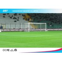 Quality High Brightness Stadium Perimeter Led Display / Football Pitch Advertising Boards for sale