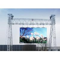 Quality P4.81mm Hd 1920hz Super Slim LED Display Outdoor Advertising Panel 8cm Thickness for sale