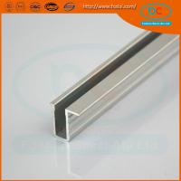 Quality High quality CP brush aluminum window profile, Matt aluminum window section, window profile for sale