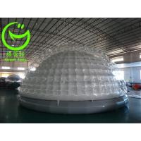 Quality 2016 hot sell  inflatable bubble tent for commercial use with 24months warranty for sale