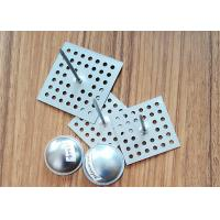 Quality SS Perforated Base Insulation Anchor Pins, Insulation Hangers With Dome Caps for sale