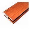 Buy cheap Square Wood Finish Aluminium Profiles , Different Colors Aluminium Framing Systems from wholesalers