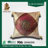 Quality Indoor Jacquard Canvas Couch Cushion Covers Decorative Pillows For Couch for sale