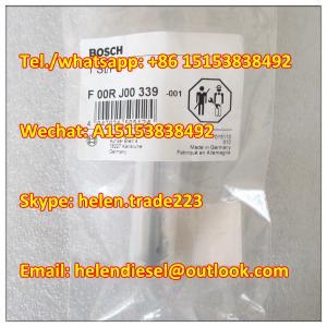 Quality Bosch original injector valve F00RJ00339 , F 00R J00 339 for 0445120007, 0445120018,0445110032, 0445110079,0445120103 for sale