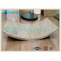 Quality Light Weight Curved Honeycomb Stone Panels Ultra Thin Granite Panels for sale