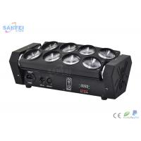 China Dual - Tilt No Base 8 Eyes Spider Beam Moving Head Light for DJs on sale