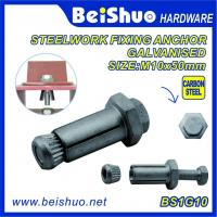 High Quality  Hot Sales Carbon steel  Zinc plated Hot dip Galanised  Expansion Anchor Bolt and Wood Anchor Bolt for sale