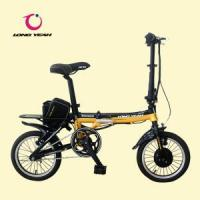 Quality Folding Electric Bike (TDU1201Z) Black & Yellow for sale