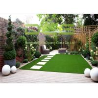 Buy cheap 25mm Pile Height DIY Artificial Grass For Dogs , Fake Turf Grass Gauge 3/8 Inch from wholesalers