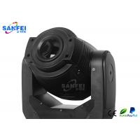 Quality Electronic Ballast Moving Head Lights / Spot Beam Light With Black Stylish Shell for sale