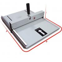 Quality A4 Dotted Line Strip Binding Machine Creases On Plain Paper / Paper Board for sale