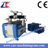 Quality Vcauum pump 4 axies wood carving cnc router ZK-6090 (600*900*120mm) for sale