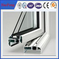 Quality China supplier of aluminium profile to make doors and windows/aluminium door price for sale