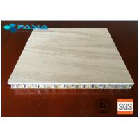Buy cheap Marble Stone Honeycomb Composite Panels 20 - 25 Mm Thickness For Office Decoration from wholesalers