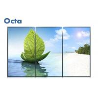 "Quality 46"" HD LCD Video Wall 3x3 3.5mm Seamless Digital Information Display for sale"