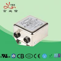 China Single Phase Low Pass EMI Filter / Power Line RFI Filter Metal Case on sale