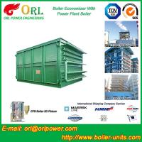 Quality Heat Economizer / Boiler Economiser In Steam Power Plant Non Pollution for sale
