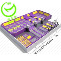 Quality high quality indoor trampoline park  GT-TRPA-2615 for sale