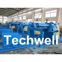 Quality 5 / 7 / 10 / 15 Ton Automatical Decoiler Curving Machine With Outer Diameter 1300mm for sale