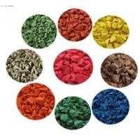Quality Wet Pour Rubber, Colored EPDM Rubber Granule for playground and running track for sale