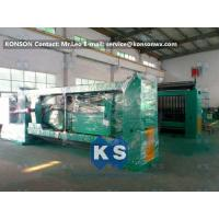 Quality Galvanized And PVC Coated Hexagonal Wire Netting Machine / Gabion Production Line for sale