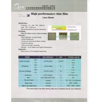 Buy cheap Lens Sheet pet film for LCD Backlight display from wholesalers
