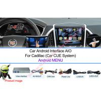 Quality Reverse Camera Android Navigation Box Video Interface for Cadillac CUE System for sale