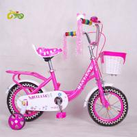 Quality 2017 new style Manufacturers wholesale Cheap stock bike for kids 16 inch kids bike inbuilt carrier for sale