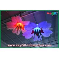 Buy LED Hang Flower Inflatable Lighting Decoration Nylon Cloth For Advertising / Event at wholesale prices
