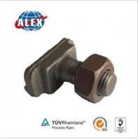 Quality Made in China Customized Track T Bolt with Hex Nuts for sale