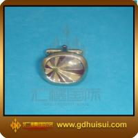 Quality zinc alloy knot cufflinks for sale