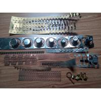 Quality Stamping Die / Moulds Brass Stamping Parts One Row Cavity Sodick Wire EDM for sale